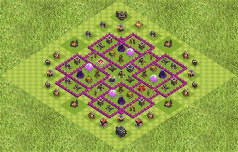 coc th9 base layout screenshot base designs th9 page 61