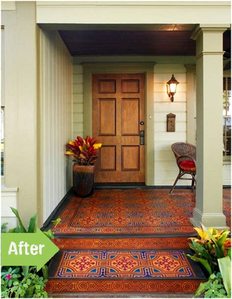 Painted Porch Floor by Before After A Diy Porch Painting Pith Vigor
