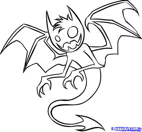 how to draw an anime demon step by step creatures how to draw an anime demon step by step creatures