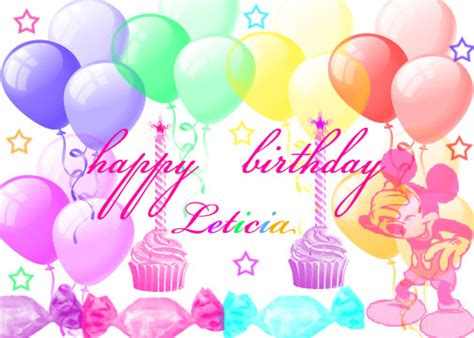 imagenes de happy birthday lety happy birthday leticia by expressline1099 on deviantart