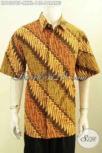 parang jumbo jual hem batik jumbo kemeja batik pria gemuk motif parang