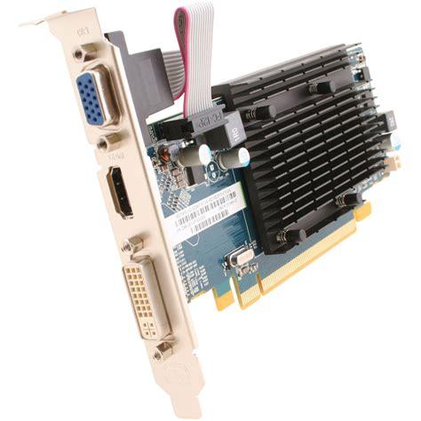 Vga Card Radeon Hd 5450 sapphire radeon hd 5450 graphics card 100292ddr3l b h photo