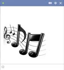 Symphony Cornice Music Notes Emoticon For Facebook Chat