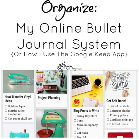 Bullet Journal App Android | organize my online bullet journal system or how i use