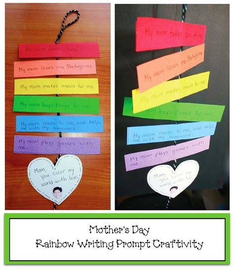 classroom craft ideas classroom freebies rainbow s day writing prompt craft