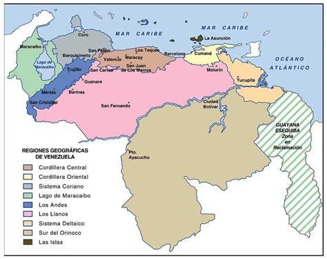 cuantas cadenas productivas hay en colombia proyecto quot conociendo la geograf 237 a de venezuela quot relieve