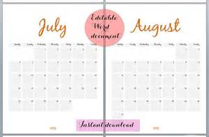 Free Custom Calendar Template by Calendar Template Black And White Calendar Template