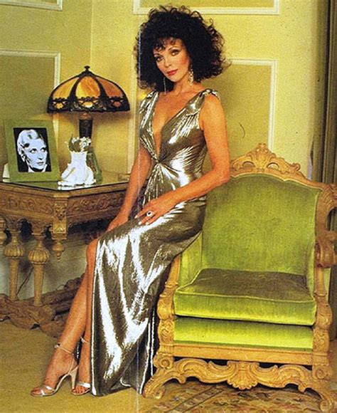 joan collins hot foto chatter busy joan collins quotes