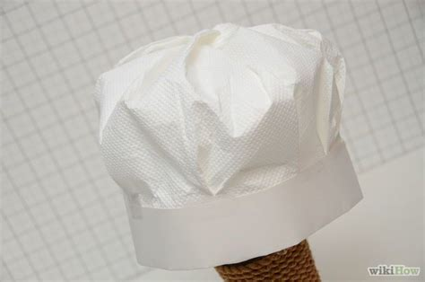 How To Make A Chef Hat With Tissue Paper - make a chef s hat paper hats chef hats and diy for