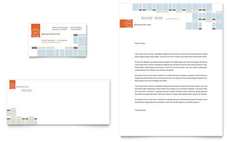 Civil Engineers Business Card & Letterhead Template   Word