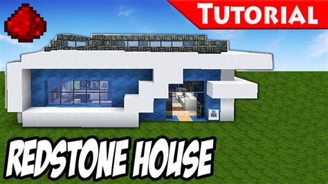 minecraft redstone house minecraft how to build a modern redstone house tutorial download youtube