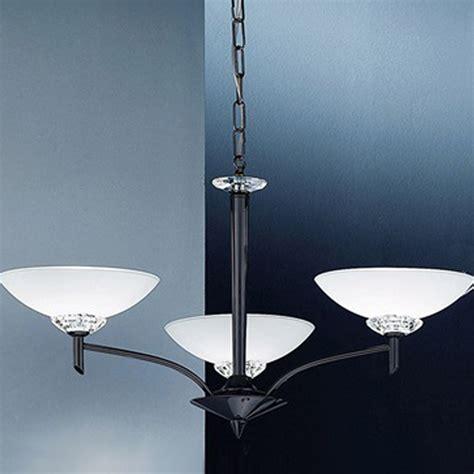 Black Ceiling Pendant Fitting by Franklite Fizz Glass Black Chrome 7 Light Pendant