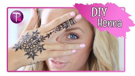 diy hand henna tattoos kalynxo youtube