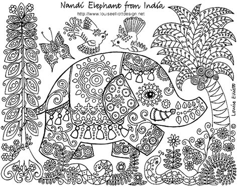 Detailed Coloring Page detailed colouring pages