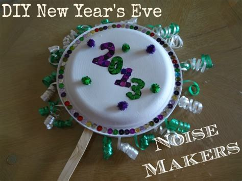 Paper Crafts For New Year - diy new year s noise makers made with paper plates and