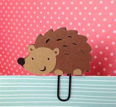 hedgehog bookmarks hedgehog filofax day planner bookmark clip