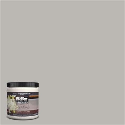 behr premium plus ultra 8 oz home decorators collection grey mist interior exterior paint