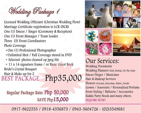 Wedding Packages by Wedding Packages In Manila Best Image Wallpaper