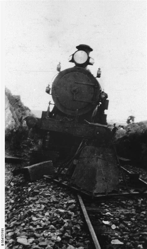 Pedler Creek train derailment • Photograph • State Library