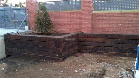 traviesas de tren precios construcci 243 n traviesa tren jard 237 n ideas jardineros