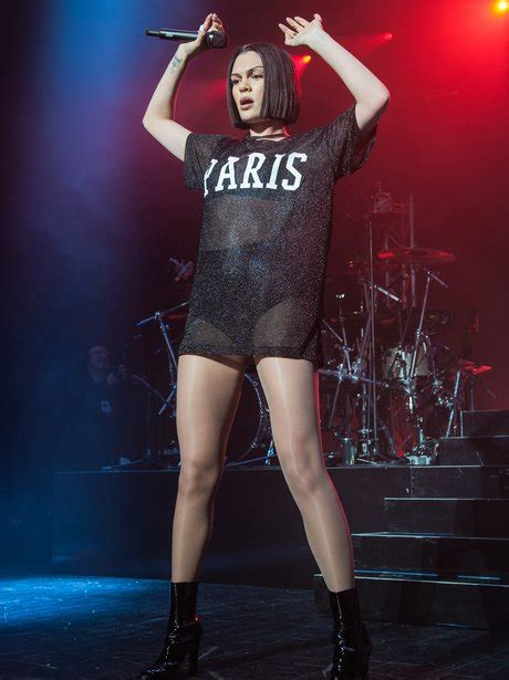jessie j us tour showing off dem pins again it s jessie j out in paris