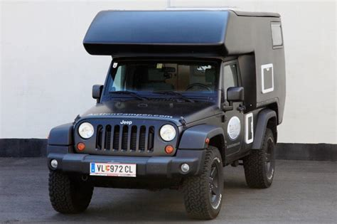 Rv Jeep Cer Converts Jeep Into Go Anywhere Rv Vogel