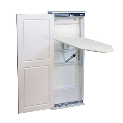 Ironing Board Storage Cabinet Ironing Board Storage Cabinet A Practical Way Of Organizing The Ironing Station Homesfeed