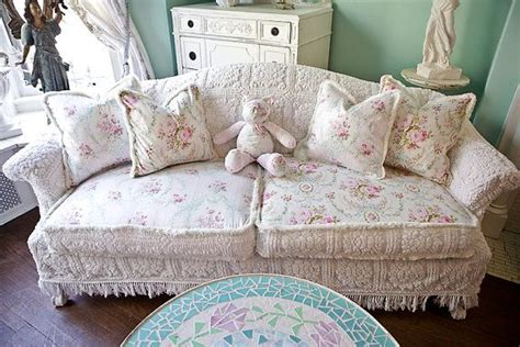 shabby chic slipcovers for couches home furniture design