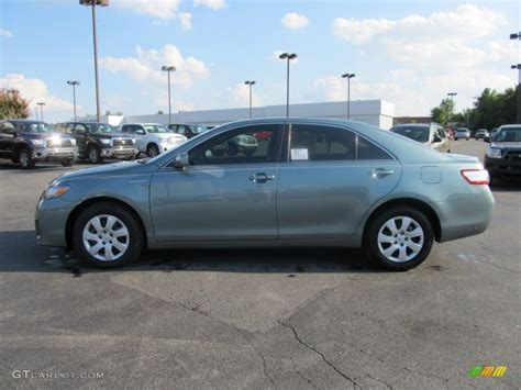 2011 Toyota Camry Type 2011 Toyota Camry Hybrid Green 200 Interior And