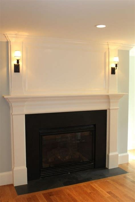 Fireplace With No Mantle by 1000 Ideas About Fireplace Mantles On Mantles