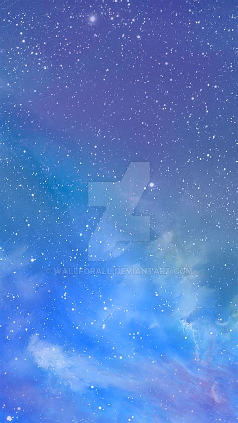 ios 7 galaxy wallpaper iphone 4 ios 7 galaxy wallpaper by wallforall on deviantart