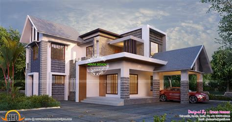 stylish house plans september 2015 kerala home design and floor plans