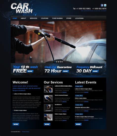 Car Wash Website Template 38208 Car Wash Schedule Template