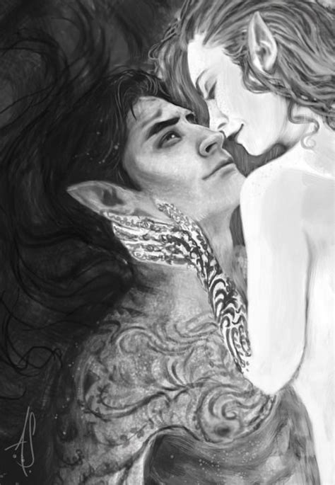 A little snippet of my current WIP. More fan art for the