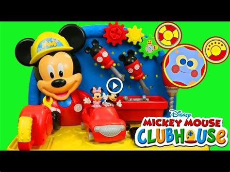 mickey mouse clubhouse work bench mickey mouse clubhouse workbench toodles toolbox minnie