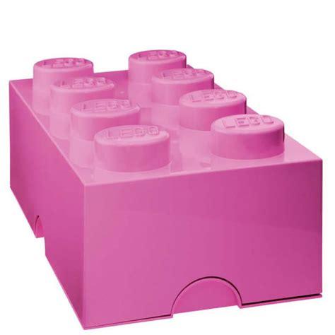 Lego Storage Brick 8 Blue Dc001029 lego storage brick 8 pink