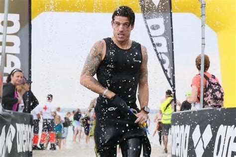 rutherglen glencairn player takes ironman triathlon