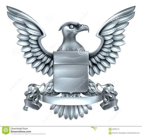 eagle heraldry design stock vector image 59505174