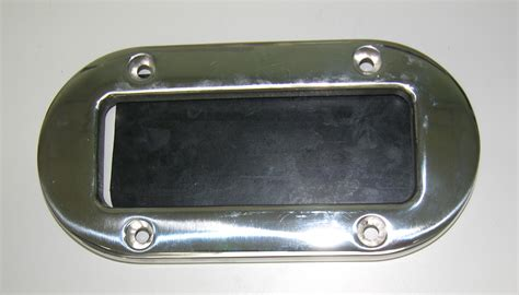 boat scuppers scupper with rubber flapper 8 x 4 ss oval novurania