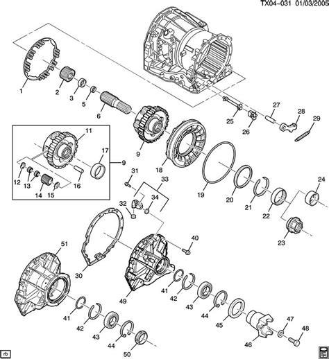 allison 1000 parts diagram allison 1000 transmission parts breakdown pictures to pin