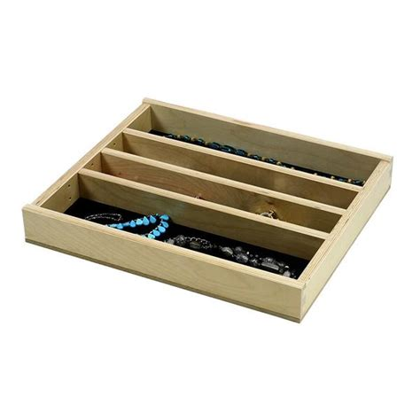Jewelry Tray Drawer Inserts by Jewelry Tray Organizer Insert G Cl 18 203 16 3 8 Quot Wide