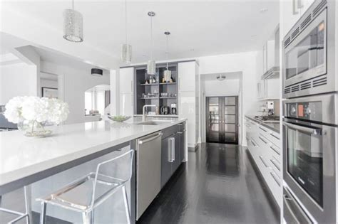 grey modern kitchen design modern white grey kitchen design oakville modern