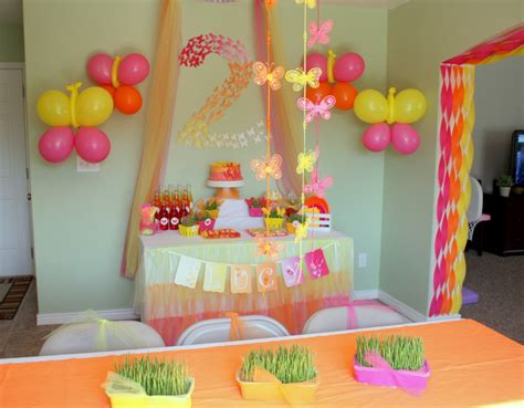 birthday decorations home butterfly themed birthday party decorations events to
