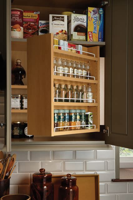 kitchen spice cabinet swing out spice cabinet traditional kitchen other