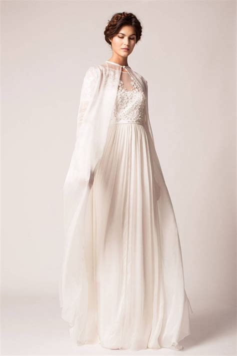 Winter Wedding Dresses With Capes