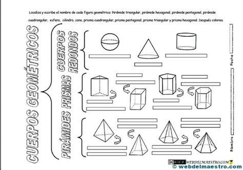 web del maestro figuras geometricas figuras geom 233 tricas tridimensionales primaria web del