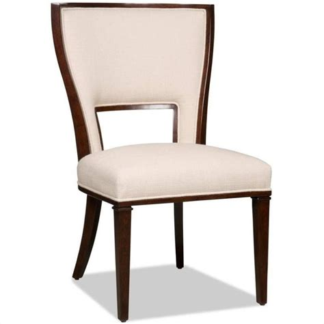 Dining Chairs Cherry Furniture Brookhaven Upholstered Armless Dining Chair In Cherry 300 350038