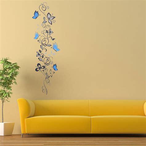 stickers mur chambre sticker mural fleur lettre amovible d 233 coration autocollant mur chambre salon ebay