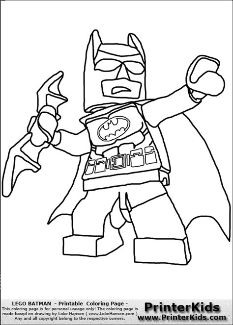 Lego Batman Lokehansen Printable Coloring Sheet 12094 Coloring Pages Of Lego Batman