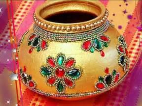 designer marriage pot garika muntha decoration marriage